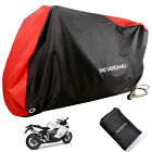 NEVERLAND L Bike Motorcycle Cover Waterproof Scooter Outdoor Rain Protection Red