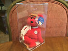 Bearon  Authenticated RARE Midwest Airlines MWMT MQ Ty Beanie Baby  Red Bear