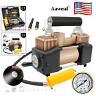 12V 150PSI Car Tire Tyre Inflator Double Cylinder Air Pump Compressor Heavy Duty