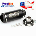 US Shipping ! 36-51mm Motorcycle Exhaust Pipe Kit Muffler Silencer DB Killer