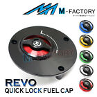 Fit Ducati Monster 821 797 Monster S4R S2R REVO Quick Lock Fuel Tank Gas Cap