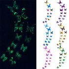 12pcs Luminous Butterfly Wall Sticker Glow In The Dark Magnetic Home Wall Decor
