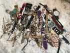 Repair LOT Vintage & Recent used watches Bulova Lady Elgin Benrus Chanel Seiko