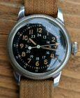 Military WALTHAM A-17 Pilots  Sweep Sec., Hacking, Wristwatch