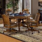 Hillsdale Nassau 5 Piece Poker Table Set