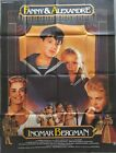 FANNY AND ALEXANDER INGMAR BERGMAN 1982 ORIGINAL FRENCH POSTER 47X64 INCHES