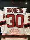 MARTIN BRODEUR SIGNED NJ DEVILS JERSEY 1 Of Only 30 Made!!! Gorgeous Signature!