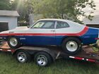 Vintage Drag Car, 1970 Ford Maverick old school setup with 351C