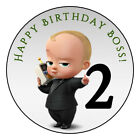 12 Favor Labels Boss Baby Birthday Party Shower Personalize