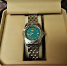 Breitling D67050 Wings Lady SS/18K gold ladies watch w/ Bakelite box and Papers