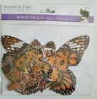 Forever in Time ORANGE Butterfly Die Cut Scrapbook Planner Embellishments 33 Pc