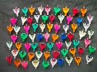 Color Plastic Flower Reflector Lot 69 Vintage Christmas Replacement Light Bulbs