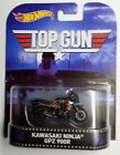 Hot Wheels Entertainment Kawasaki Ninja GPz900R Top Gun New in Pack Motorcycle