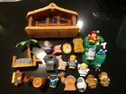 FISHER PRICE LITTLE PEOPLE CHRISTMAS STORY NATIVITY SET 2005