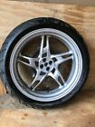 Bmw R1150rt Rear Wheel And Tire With Brake Rotor With Abs