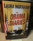 The Obama Diaries Signed Bookplate by Laura Ingraham 2010 Hardcover DJ