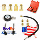 US Shipping ! Motor Auto Petrol Gas Engine Cylinder Pressure Gauge Tester Tool