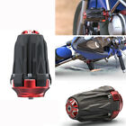 1PC Bike Motorcycle Frame Sliders Falling Protection Anti-drop Stick Black + Red