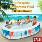906020 Inflatable Swimming Pool Water Play Fun For Kids Outdoor Backyard US
