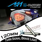 12cm Tail Brake Turn Signal LED Strip Lights Bar For FZ6N YZF R1 R6 R6S R125