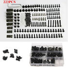 223x Mixed Motorcycle Windscreen Fairing Bolts Kit Fastener Clip Screw Aluminum