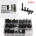 223Pcs Motorcycle Sportbike Windscreen Fairing Bolts Hardware Kit Fastener Screw