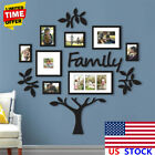 Family Tree Photo Frame Collage Picture Sticker Collage Wall Mount Decor Wedding