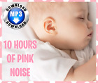 10 Hours Pink Noise Helps Crying Babys Sleep, Colic (MP3 Digital Download)