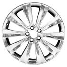 Polished 10 Spoke 20X8 Factory wheel 2013 2016 Lincoln MKS