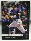 Trevor Story 2019 Topps Now Future Award Winners NL MVP Autograph Auto #'d 99