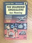 The Diamond Smugglers by Ian Fleming 1960 Great Pan 1st edition RARE good con