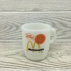 Vintage Anchor Hocking Fire King McDonalds Good Morning Coffee Cup Mug