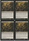 MTG 4X Zombie Apocalypse X4 Dark Ascension Magic DKA Black Rare 2012 MP NM