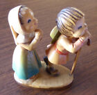 Anri 6 Reverence Wooden Nativity Figurine by Juan Ferrandiz