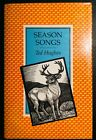 SIGNED Ted Hughes Season Songs 1985 hardcover jacket faber