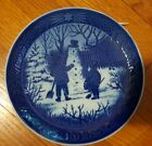 ROYAL COPENHAGEN ANNUAL CHRISTMAS PLATE ~ 1985 ~ THE SNOWMAN