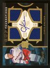 2012-13 The Cup Foundations Auto Quad Patch Chris Kreider12 15