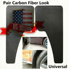 2 x Large ABS 49.5*30cm Front Rear Wheel Splash Guards Mud Flaps US  Shipping !