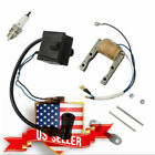 Ignition Coil CDI Device Kit For 2 Stroke 48 49 66 80cc Engine Motorized US !
