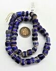 OLD Strand Venetian African Antique Chevron Trade Beads Bin W3 Collection O