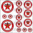TEXACO HOBBY DECALS DECAL QUALITY WATERSLIDE TRUCK TRAIN DIORAMA LAYOUT