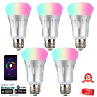 Wifi Smart LED light Bulb 7W RGB Dimmable for Amazon Alexa Google Home Remote US