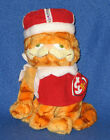 TY HIS MAJESTY GARFIELD the CAT BEANIE BABY - MY KINGDOM - MINT with MINT TAGS