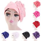 Islamic Scarf Headscarf Makeup Cap Hat Headdress Women Flower Hot Drill Bit Cap