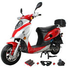 New 495cc gas Moped Scooter street bike motorcycle free shipping with gifts
