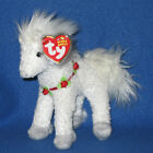TY HOLLYHORSE the CHRISTMAS HORSE BEANIE BABY - MINT with MINT TAGS