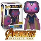 Funko POP! Marvel Avengers 3: Infinity War - Vision Hot Topic Exclusive