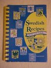 Swedish Recipes Old  New by American Daughters of Sweden Cookbook Chicago IL