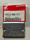 OEM NOS Honda Front Brake Master Cylinder Cover 45513-MM8-671 Ships Today!