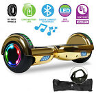 UL2272 Off Road 65 Self Balancing Bluetooth Hoverboard Electric Scooter Gold